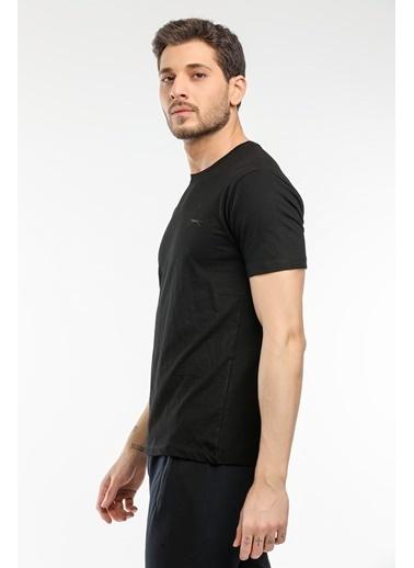 Slazenger Slazenger SAND Erkek T-Shirt  Siyah